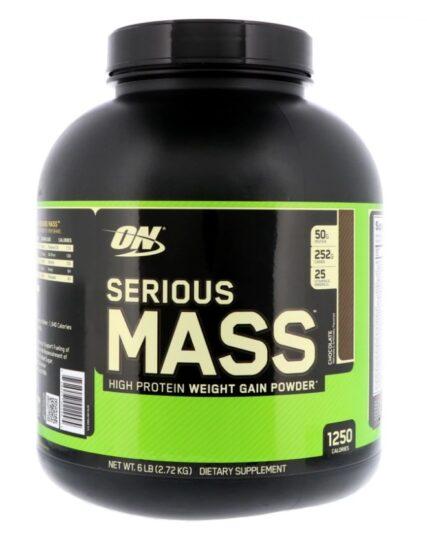 Optimum Nutrition - Serious Mass High Protein Weight Gainer - 6 Lbs