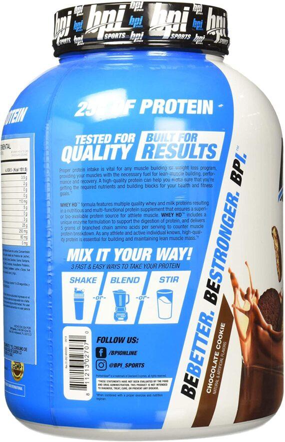 BPI Sports Whey HD Ultra Premium Protein Powder 4.2 lbs in Pakistan