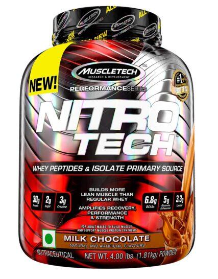 Buy Nitro-Tech Protein - 4 Lbs in Pakistan _ 100% Authentic