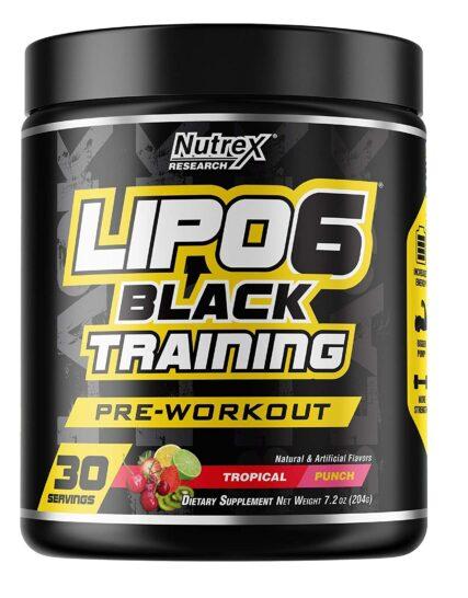Nutrex Lipo 6 Black Training 30 Servings in Pakistan 100% Imported