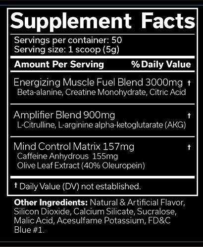 The Ripper Fat Burner Pre Workout Powder 30 servings in Pakistan